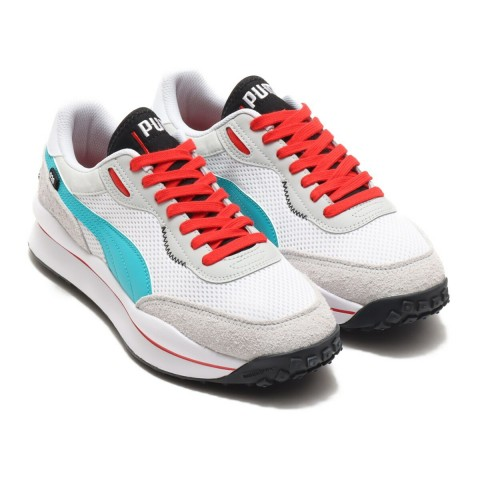 """Style Rider """"Neo Archive - Blanche Gris Violet"""" - Puma - 373381-04"""