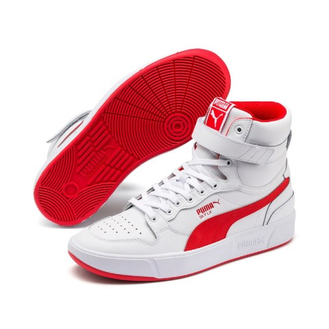 """Sky LX Mid """"Blanche Rouge"""" - Puma - 372874-02"""