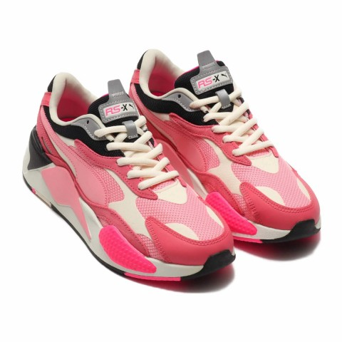 Puma RS-X3 Puzzle Rapture Rose/Peony-Blanche - 371570-06