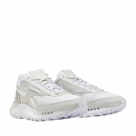 Reebok Classic Leather Legacy Blanche Gris - FY7379