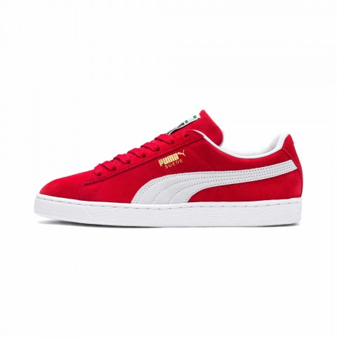 Puma Suede Classic+ Rouge-Blanche - 352634-65